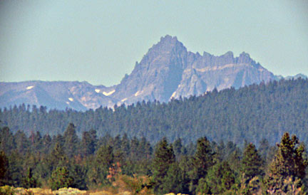 This Cascade volcano is one of Oregon's most difficult rock climbs. It is part of Mt. Jefferson Wilderness Area