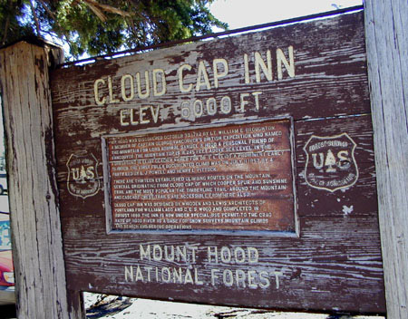 Cloud Cap Inn is now on the National Historic Register and is maintained in loving care by the climbing club the Crag Rats