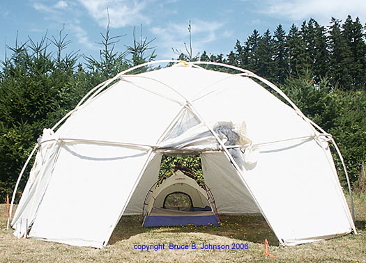 & The history of the Geodesic backpacking tent