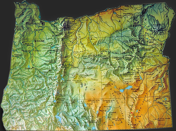 Oregon Map Oregon Geography Indian Tribes Map Native American - Maps of oregon