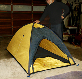 This tent is the companyu0027s smallest model the  DL 2  (the Dry Light 2). The yellow parts are made of 1.5 oz. ripstop laminated to Goretex while the navy ... & Oregon grew outdoor gear companies like Landav Designs and others