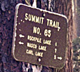 one mile north of Rockpile Lake is a forgotten
