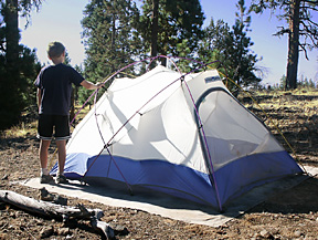 Check out my story about ... & Sierra Designs Tiros mountaineering geodesic tent was extremely ...