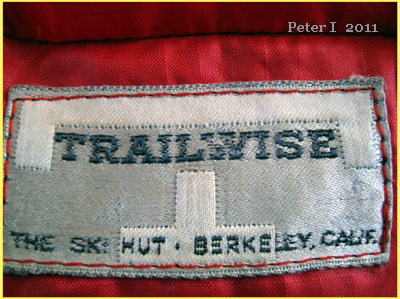Probably the very  earliest Trailwise label